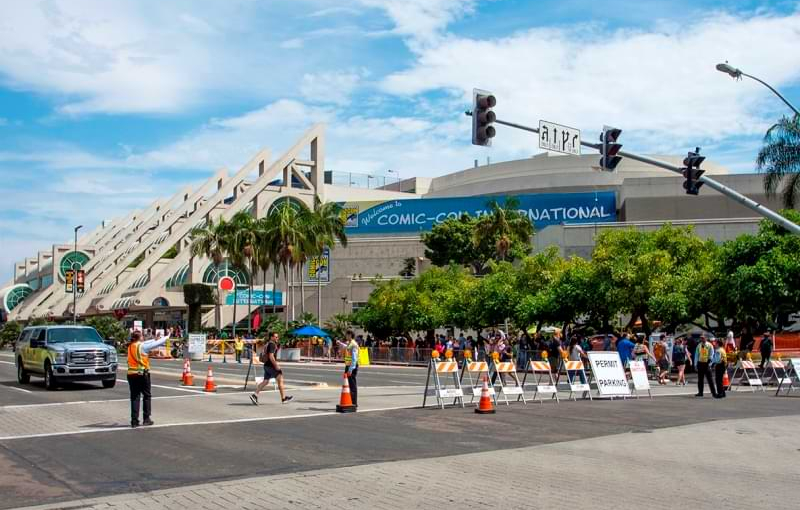 Temporary Vehicle Restrictions Planned During Comic-Con 2019