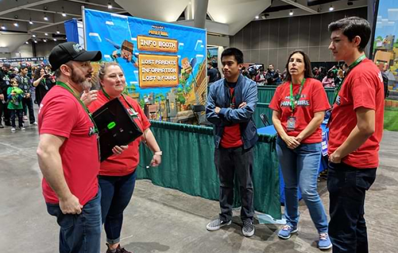 Students Turn Passion for Minecraft into Career Building Blocks