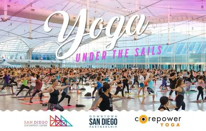 Free Community Yoga Returns to Your San Diego Convention Center