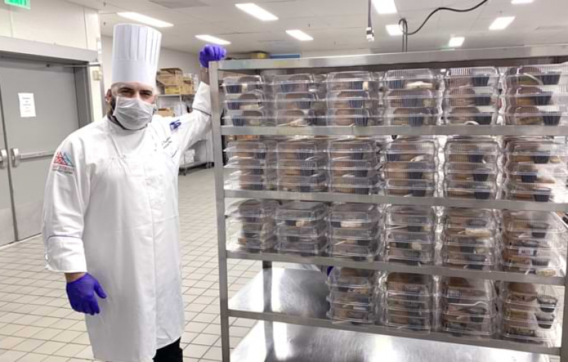 140,000 Meals and Counting: Inside Centerplate's Kitchens for Operation Shelter to Home