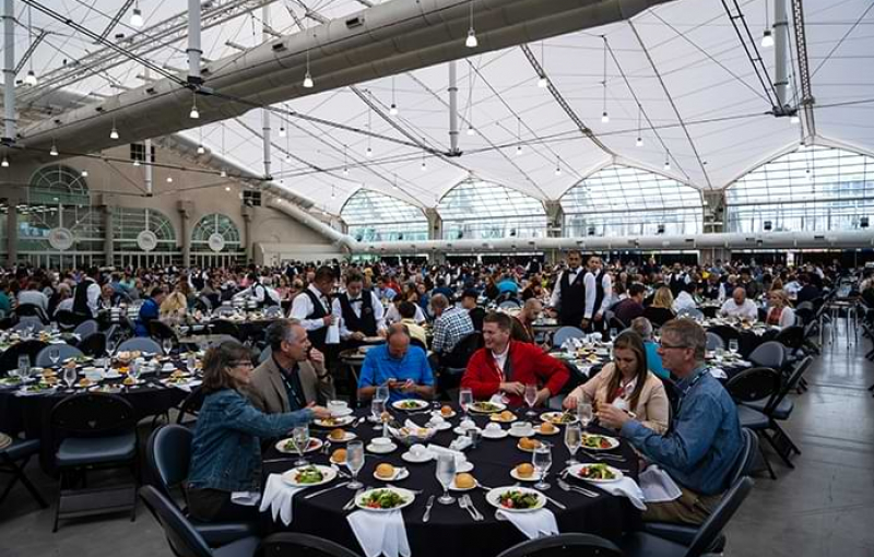 The Art of Catering: Seven Massive Meals in the Sails Pavilion