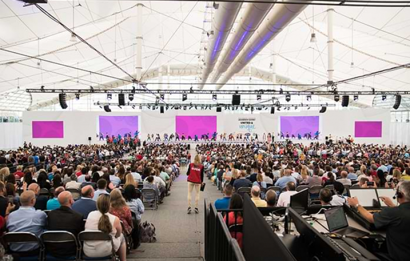 From the Meeting Planner: Transforming the Sails Pavilion